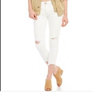 Free People Hong Kong Destroyed Jeans